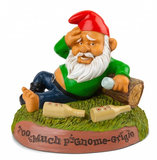 Dronken tuinkabouter - the hungover gnome_