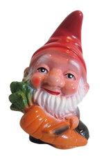 Tuinkabouter met wortel (kunststof) 17 cm