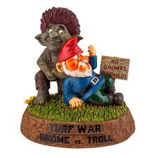 Tuinkabouter Turf War Gnome vs. Troll