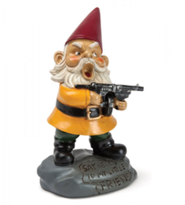 Tuinkabouter Angry Gnome