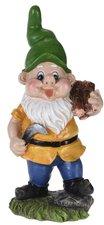 Tuinkabouter Dwarf met houtblokken